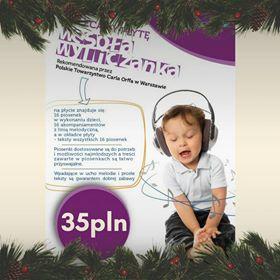 Płyta z piosenkami dla dzieci